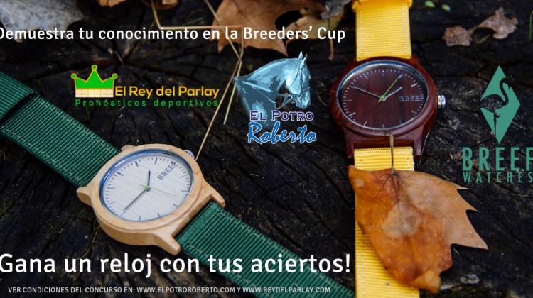 ¡Gana un reloj! Pronosticando en la Breeders' Cup