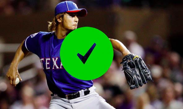 4to. bate acertado ¡Darvish!