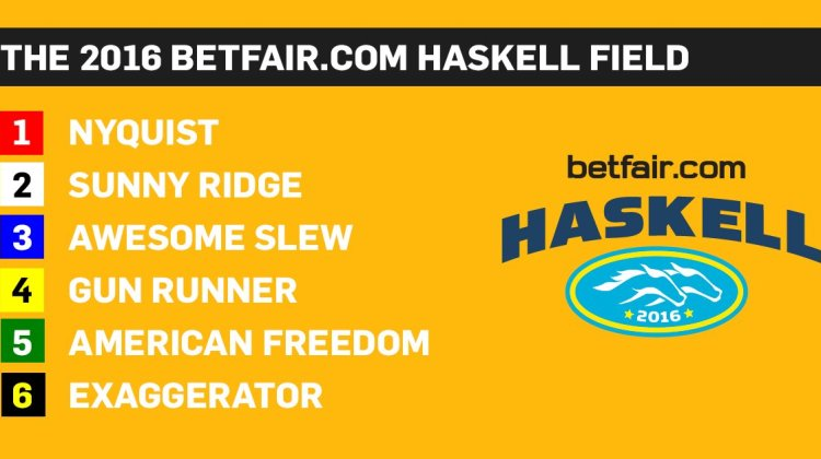 Carreras de caballos: Betfair.com Haskell Invitational 2016