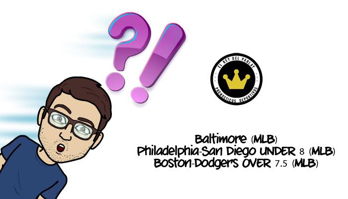 7-8-2016 | Parlay del domingo MLB