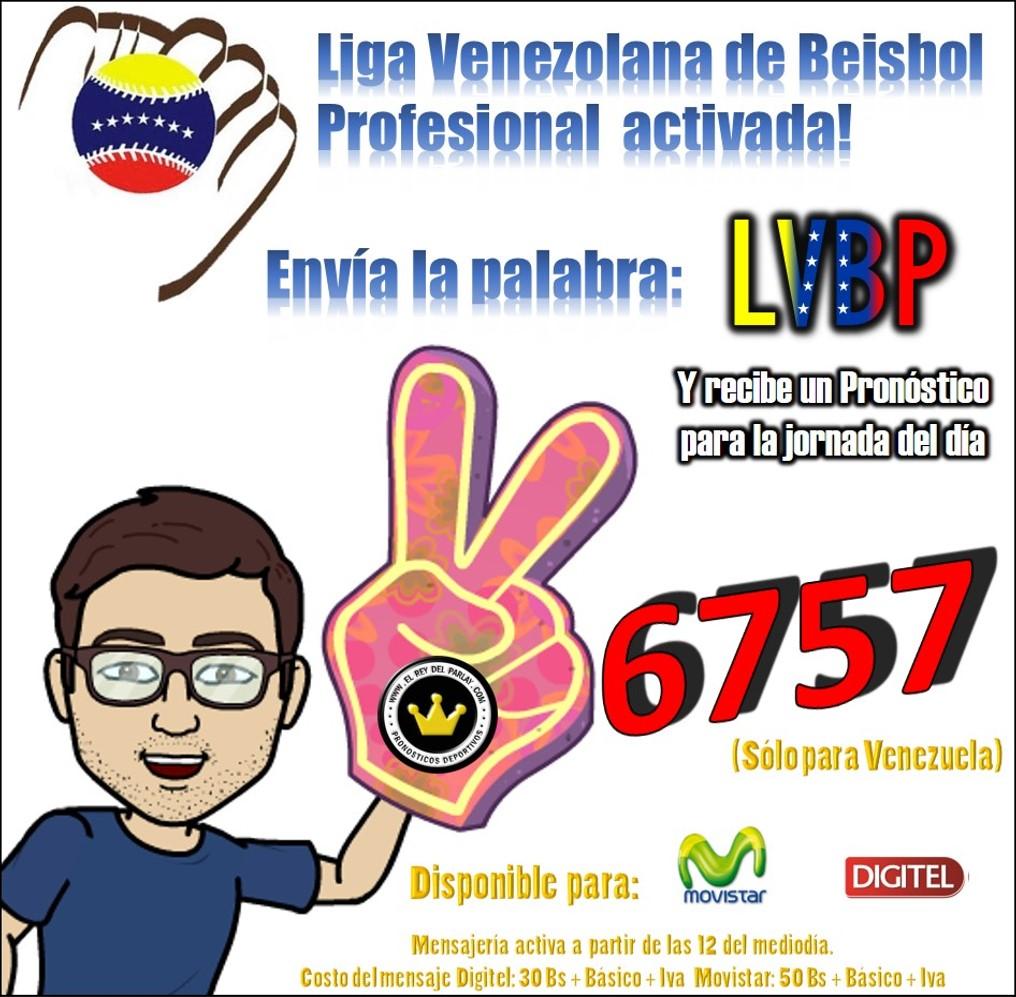 mensajería lvbp beisbol venezuela