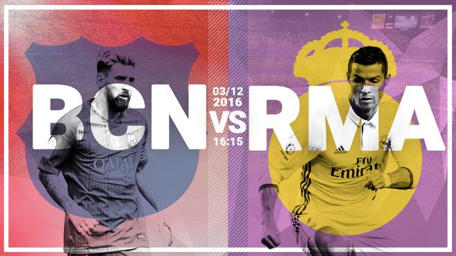 Pronósticos La Liga | El Clásico | 3-12-2016 | Barcelona vs. Real Madrid