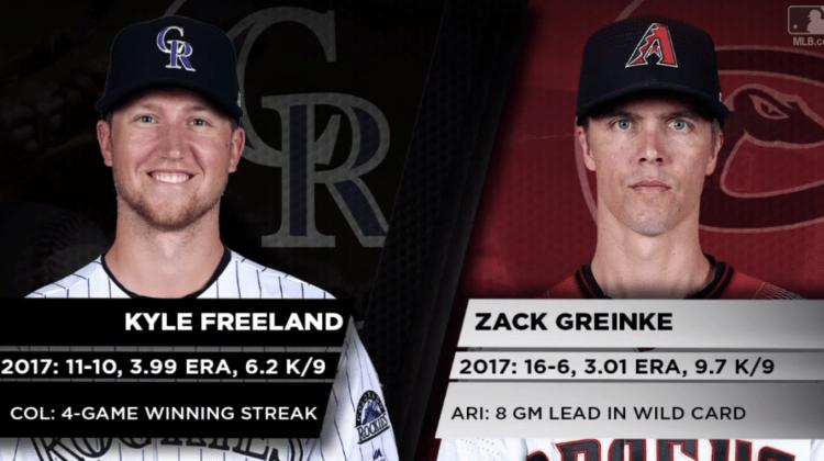 Pronósticos MLB   El 4to. bate del día  11-9-2017