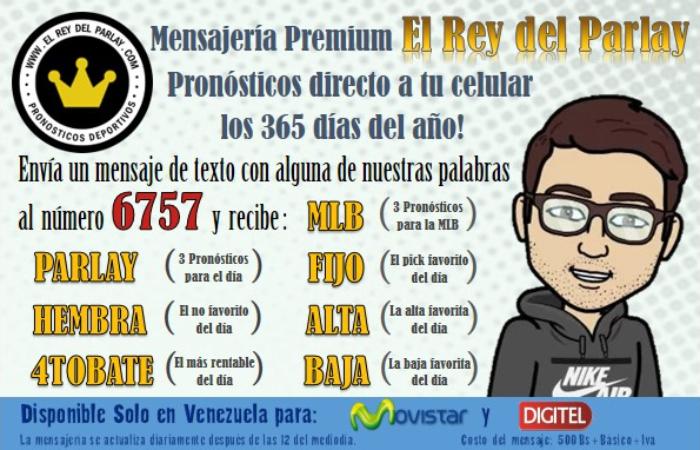pronósticos mensajería parley venezuela