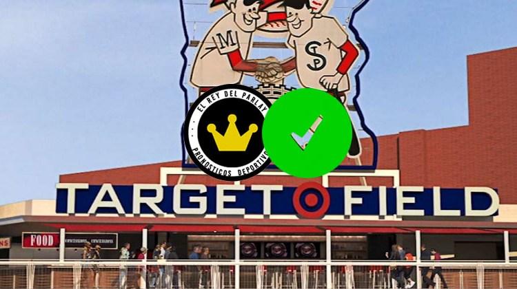 Estacazo clavado en Target Field