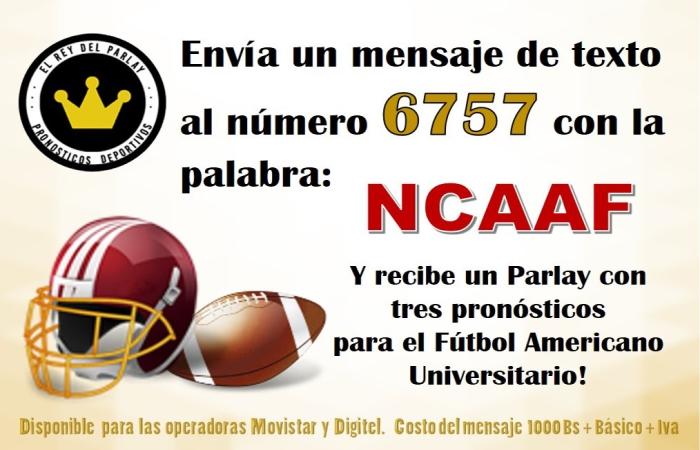 futbol americano universitario logros apuestas sms