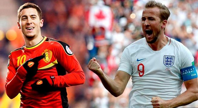 Inglaterra vs. Bélgica | Grupo G Mundial Rusia 2018 | 28-6-2018