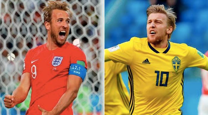 Inglaterra vs. Suecia | 4tos. de final Mundial Rusia 2018 | 7-7-2018