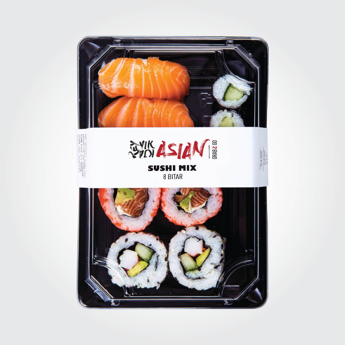 Sushi Mix - 8 bitar - Reykjavík Asian