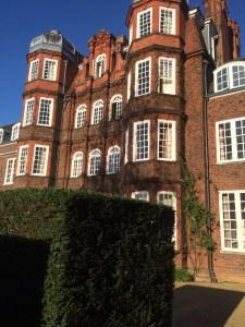Photo taken by me of Newnham College, University of Cambridge