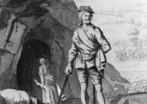 18th-century illustration of Sawney Bean