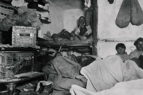 Lodgers in a Crowded Bayard Street Tenement--'Five Cents a Spot