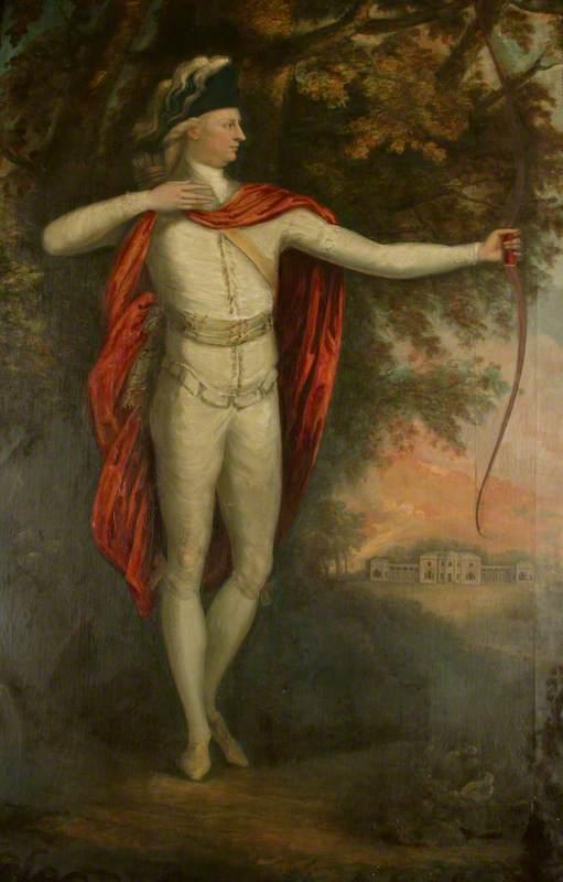 Smith, James H., active 1781-1789; Sir Thomas Egerton, Bt, as an Archer in Heaton Park