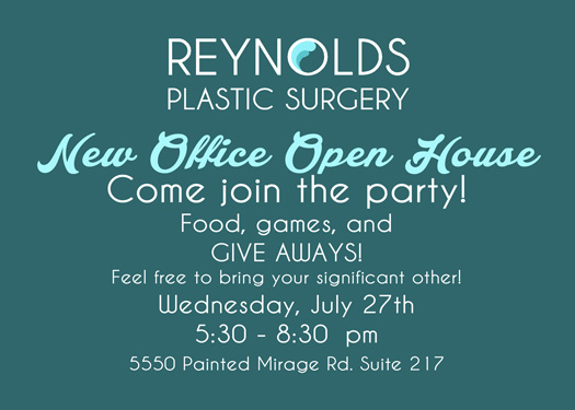 Reynolds Plastic Surgery Open House