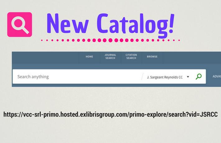 Copy of Copy of Catalog notice