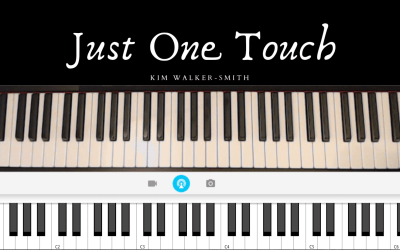 "How to Play ""Just One Touch"" on the Piano"