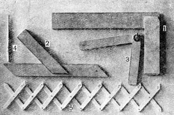 Разметочный инструмент [1957 Левин Л.П. - Резьба по дереву]