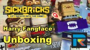 Sick Bricks Harry Fangface Unboxing and Overview – Totem Instructions!