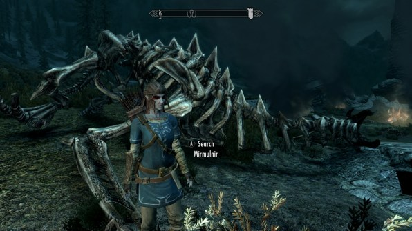 Link hunts dragons!?