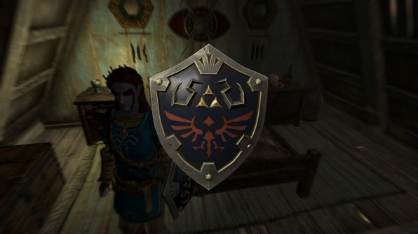 Hylian Shield!