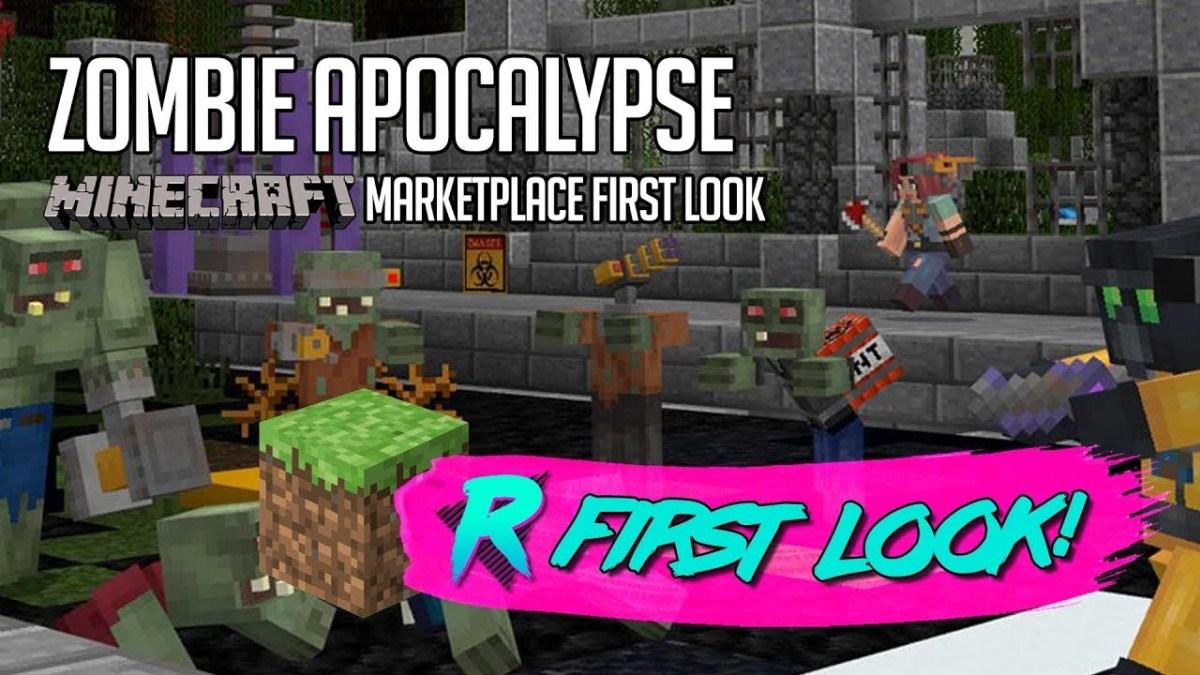 Zombie Apocalypse – First Look – Minecraft Marketplace – REZD.tv