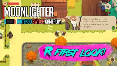 Moonlighter - First Look - Nintendo Switch
