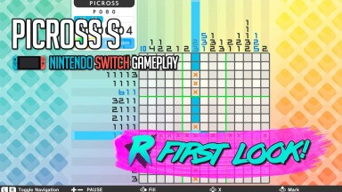 Picross S - First Look - Nintendo Switch