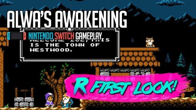 Alwa's Awakening - First Look - Nintendo Switch