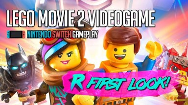 The LEGO Movie 2 Videogame - First Look - Nintendo Switch