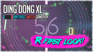 Ding Dong XL - First Look - Nintendo Switch Gameplay