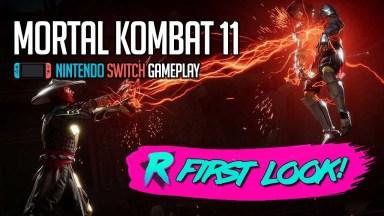 Mortal Kombat 11 - First Look - Nintendo Switch Gameplay