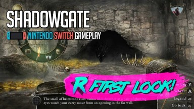 Shadowgate - First Look - Nintendo Switch Gameplay