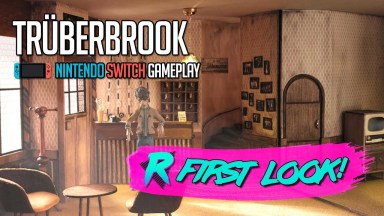 Truberbrook - First Look - Nintendo Switch Gameplay