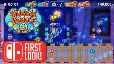 Bubble Bobble 4 Friends - First Look - Nintendo Switch Gameplay
