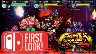 Fight'N Rage - First Look - Nintendo Switch Gameplay