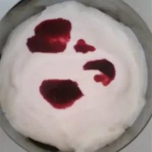 Joghurt Sahne Creme für Schokotorte