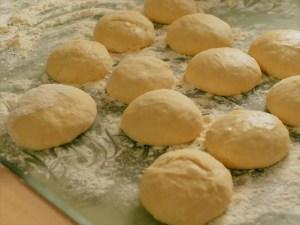 Bratapfelkuchen Teiglinge