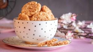 rezept für Erdnussbutter Cookies