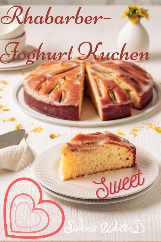 Rhabarberkuchen ohne Butter