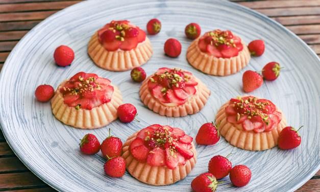 Erdbeertartelettes