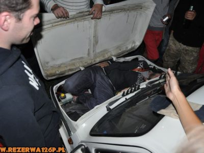 Najpiękniej jednak do bagażnika dopasował się Groszek