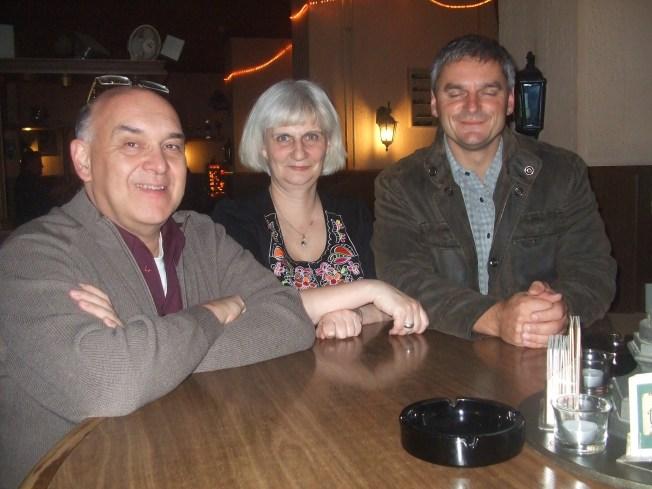 Thomas Stefan, Bettina Buske und Uwe Hartig