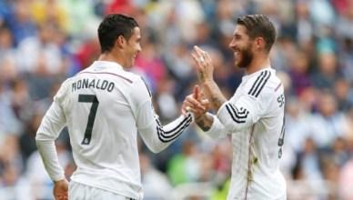 Sergio Ramos dan Cristiano Ronaldo - rezkyfirmansyah.com