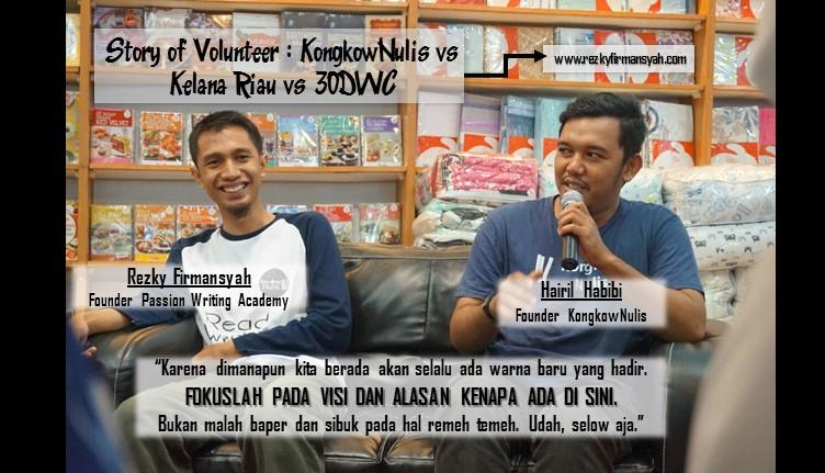 Story of Volunteer