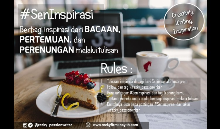 SenInspirasi Header Blog