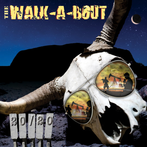 New York Rock Quintet THE WALK-A-BOUT to Release New Full-Length Album 20/20 on Shred The Evidence Records