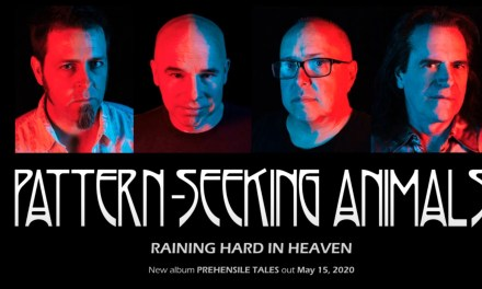 "PATTERN-SEEKING ANIMALS release second track ""Raining Hard in Heaven"" off forthcoming studio album 'Prehensile Tales'!"
