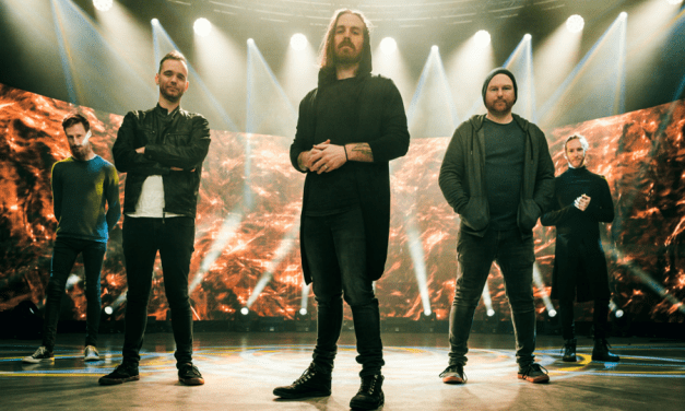 "Caligula's Horse – launch video for ""Oceanrise"" 'Rise Radiant' charts"