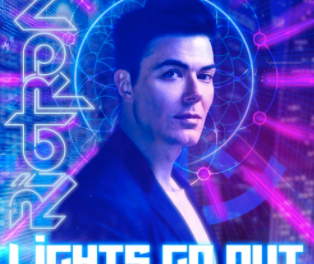 Canadian retrowave artist Riotron is back with his new single 'Lights Go Out'