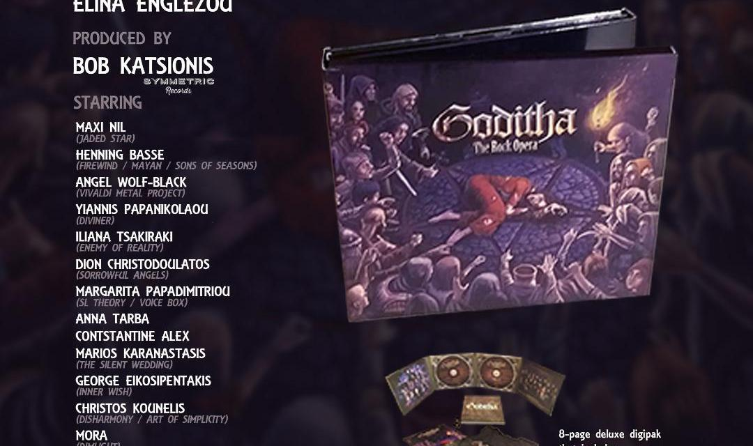"Elina Englezou & Bob Katsionis – ""GODITHA-THE ROCK OPERA"" by Symmetric Records."